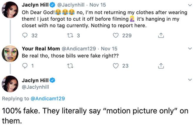 Jaclyn Hill Tweets.