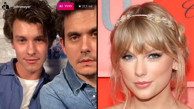 "Shawn Mendes called out for ""mocking"" Taylor Swift with John Mayer"