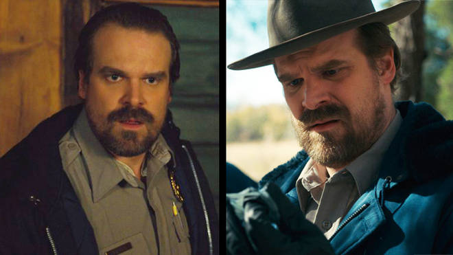 David Harbour as Jim Hopper in Stranger Things