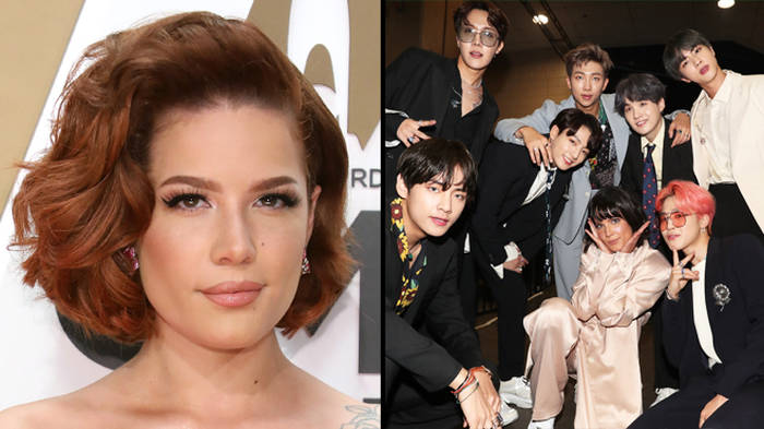 Halsey calls out Grammys for not giving BTS any nominations