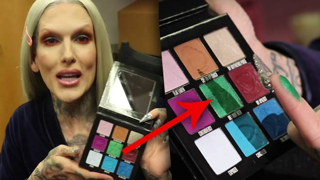 Shane and Jeffree add 'unnamed green shade' to new Mini Controversy palette