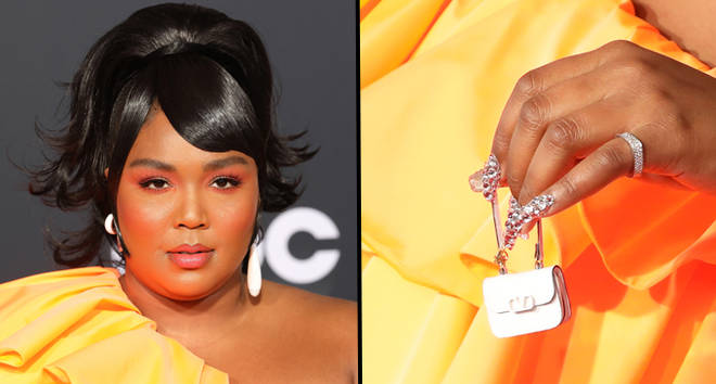 Lizzo attends the 2019 American Music Awards at Microsoft Theater.