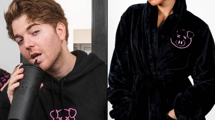 Shane Dawson adds pig robe and Christmas sweater to merch store