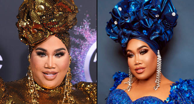 Patrick Starrr arrives at the 2019 American Music Awards, on Twitter.