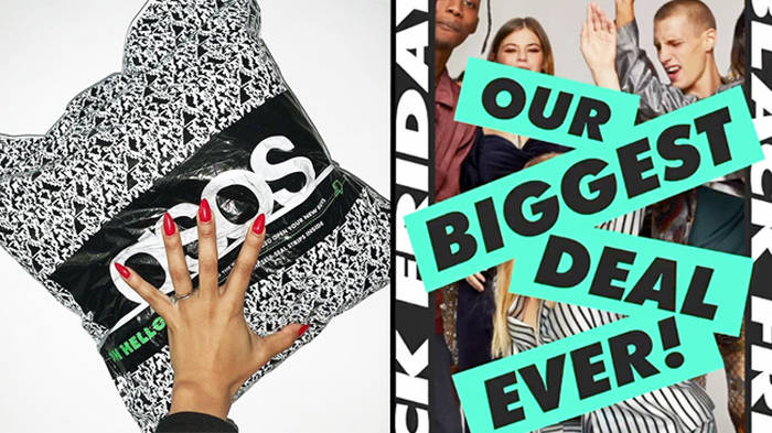 ASOS are being accused of increasing their prices in Black Friday sale