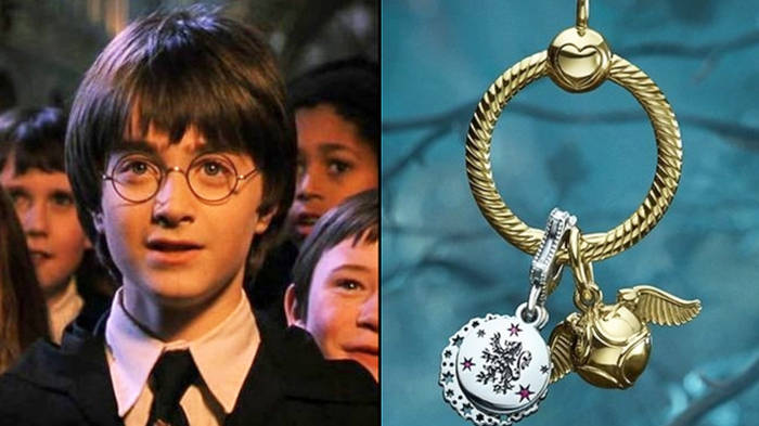There's a Harry Potter jewellery collection at Pandora and here are all the charms