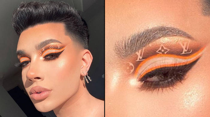 James Charles responds after criticism over photoshopped Louis Vuitton eyeshadow