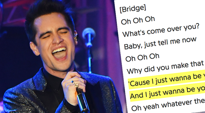 Brendon Urie Dancing's Not A Crime Lyrics